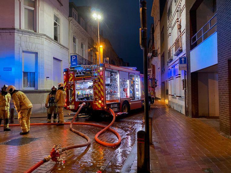 De brand ontstond in de nacht van 1 op 2 november in de Haelenstraat.