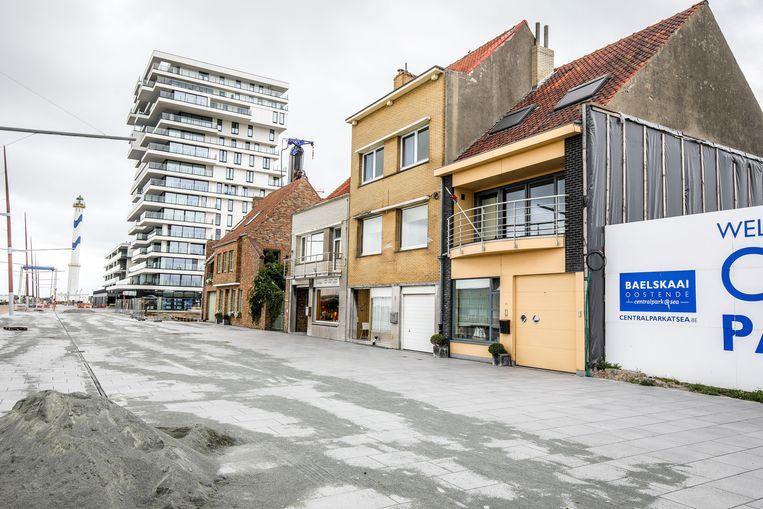 De Hendrik Baelskaai in Oostende.