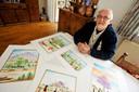 Theo Raaijmakers was in 2011 voor even terug in Moergestel. Hij zamelde geld in voor de zieke jongen Ivan in Bolivia.