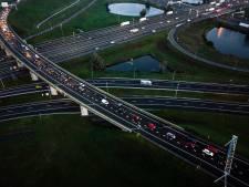 Weer werk aan A12 bij Utrecht, maar deze keer is het 's nachts en in het weekend