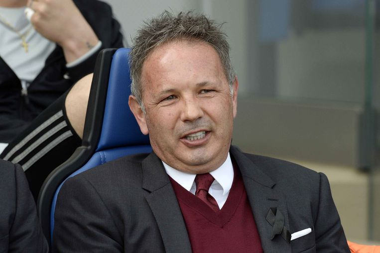 Sinisa Mihajlovic FOOTBALL : Atalanta Bergame vs Milan AC - Serie A - Calcio - Championnat italien - 03/04/2016 © PanoramiC / PHOTO NEWS PICTURES NOT INCLUDED IN THE CONTRACTS