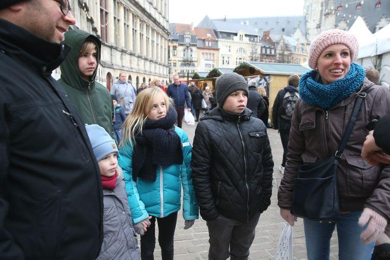 Ook gezinnen vinden dit jaar weer vlot de weg naar de Winterfeesten.