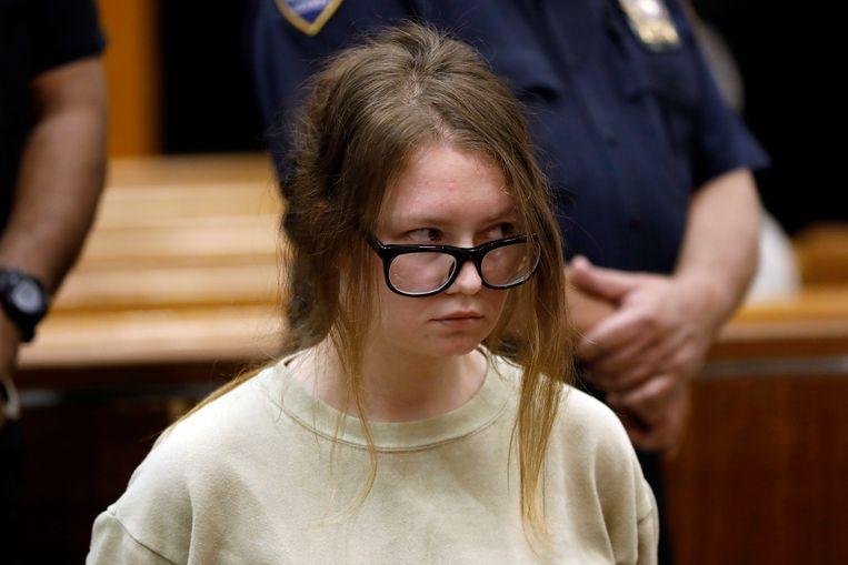 'Anna Delvey' alias Anna Sorokin moet vandaag voorkomen voor oplichting en diefstal.
