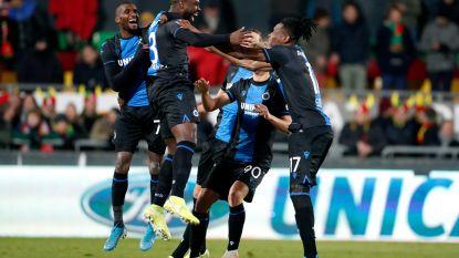 Club ontsnapt aan uitschakeling in Croky Cup: blauw-zwart rekent pas na strafschoppen af met Oostende