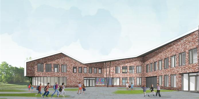 De nieuwe Kees Valkensteinschool in nieuwbouwwijk Haarzicht opent in september 2019 de deuren.