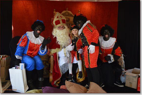 Aankomst Sinterklaas in Willebroek.