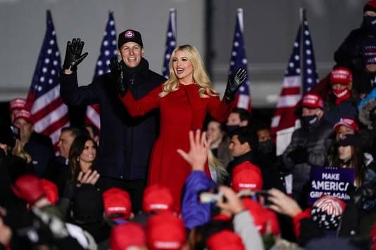 Trumps dochter Ivanka en haar man Jared Kushner tijdens de campagne van Donald Trump, eerder deze maand.
