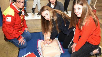 Zesdejaars leren levens redden