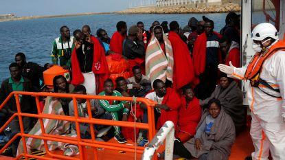 Meer dan 600 migranten gered voor Spaanse kust