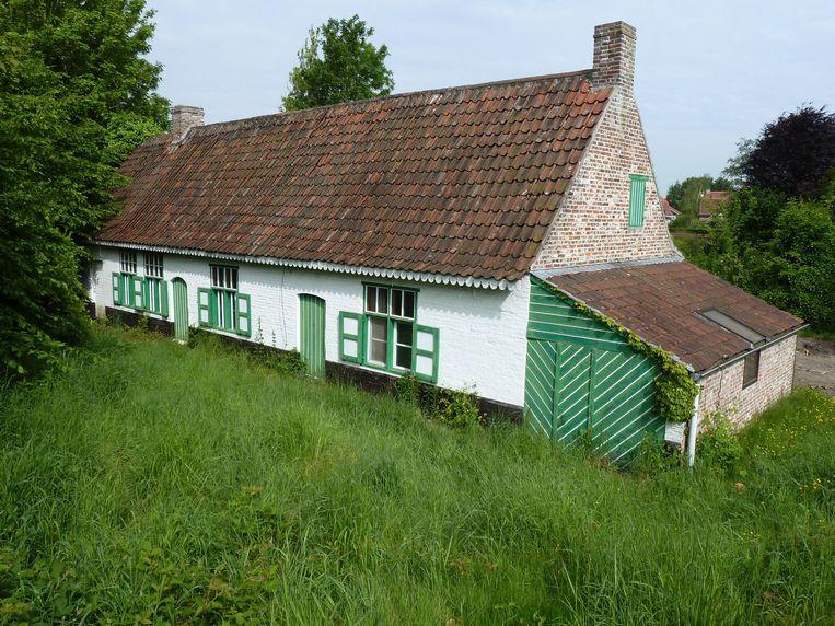 De achttiende-eeuwse woning in de oorspronkelijke staat.
