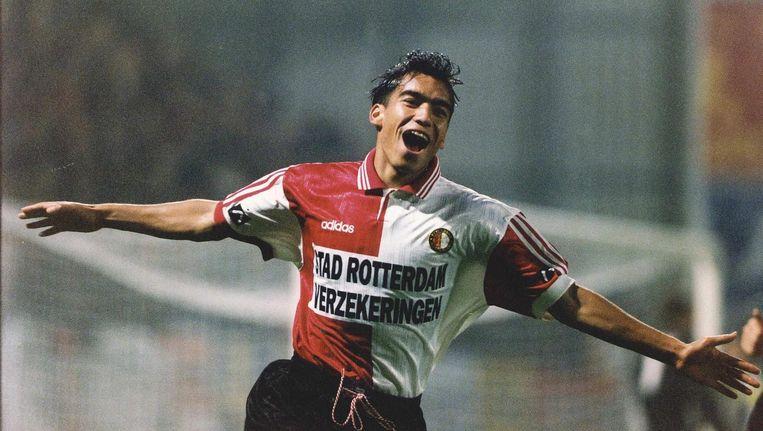Giovanni van Bronckhorst als speler van Feyenoord Beeld anp