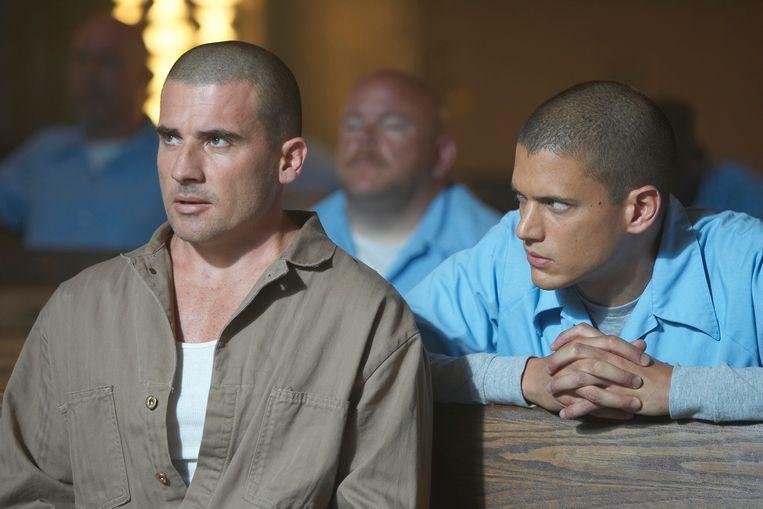 Dominic Purcell en Wentworth Miller spelen de hoofdrollen in Prison Break.