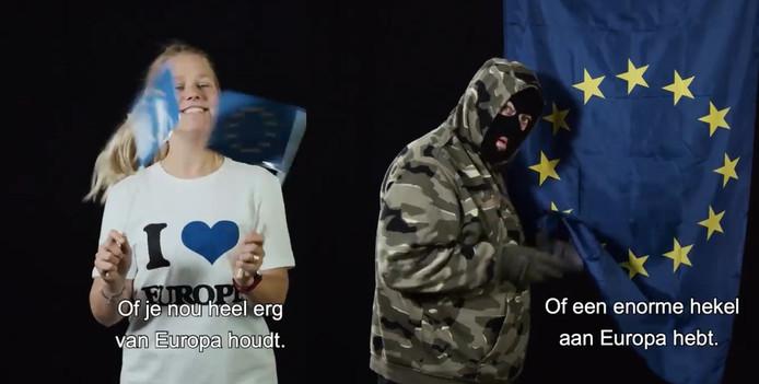 De PVV is kwaad over een video die de provincie Overijssel maakte voor de Europese verkiezingen.