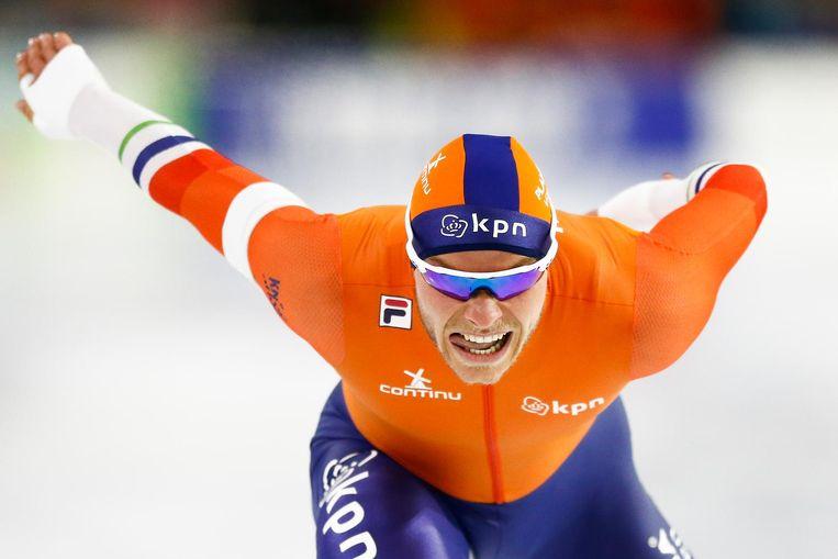 Koen Verweij liet dinsdagavond bij de NOS weten meer afstand van zijn tijdelijke ploeggenoten te nemen. Beeld anp