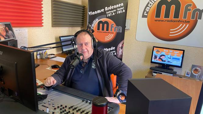 Unieke opname van Lutgart Simoens bij radio M fm
