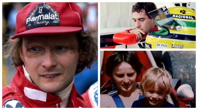 Niki Lauda (1949-2019) - Ayrton Senna (1960-1994) - Gilles Villeneuve (1950-1982)