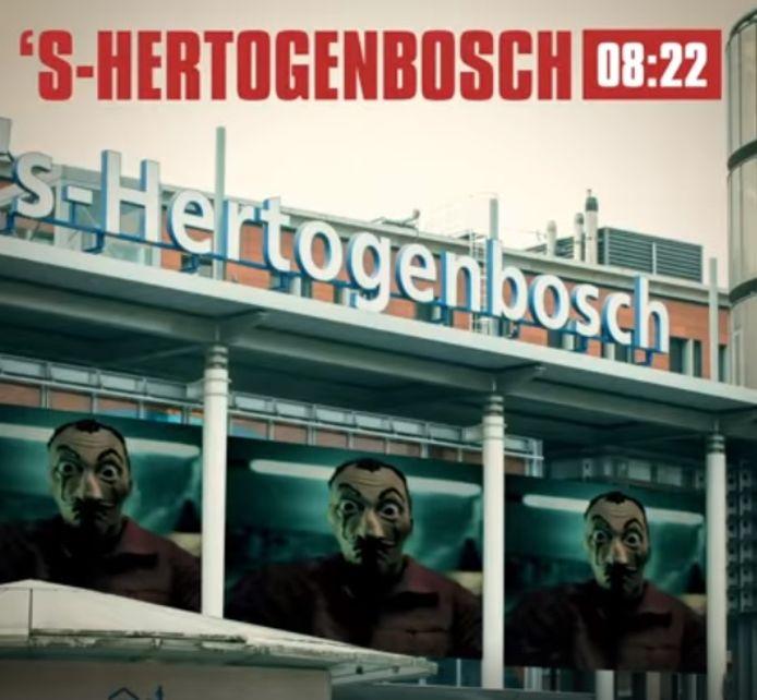 Casa de Papel heeft een boodschap voor Den Bosch
