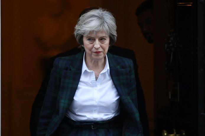 Minister-president Theresa May.