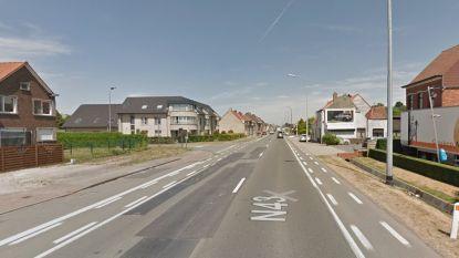 Twee lichtgewonden bij ongeval op Kortrijksesteenweg