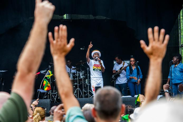 Archieffoto van Reggae Rotterdam ter illustratie.