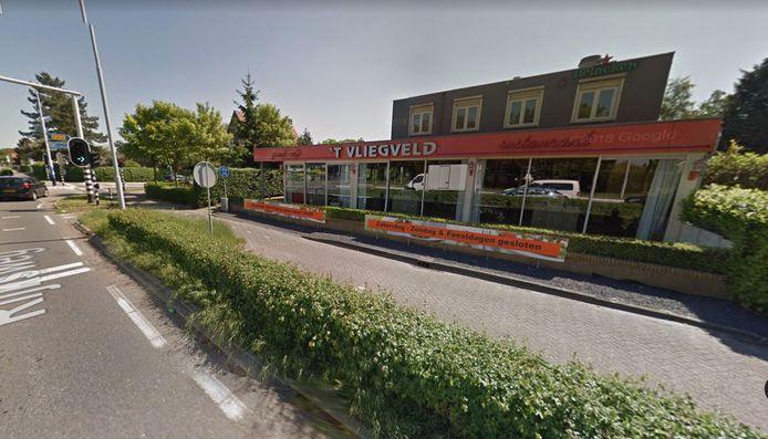 Wegrestaurant 't Vliegveld in Hulten.