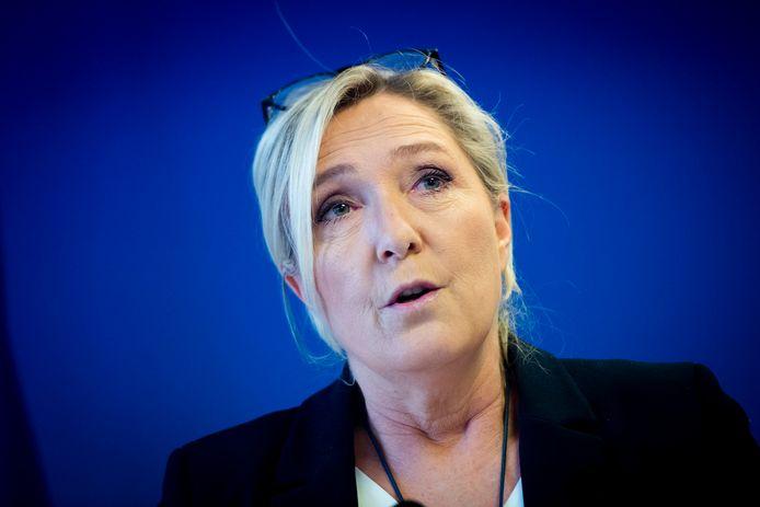 Marine Le Pen, président du Rassemblement national.