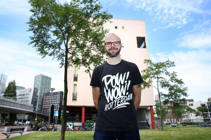 Dave Vanderheijden, festivaldirecteur van POW! WOW!