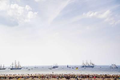 Tall Ships in Scheveningen trekken 220.000 bezoekers