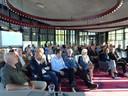 De aanwezige Boxtelaren bij de informatiebijeenkomst over Boxtel Binnen de Bruggen.