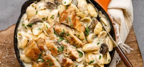 Wat Eten We Vandaag: Chicken parmesan pasta