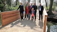 Nieuwe veilige brug in gemeentepark