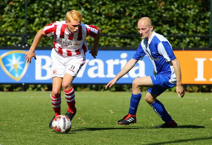 Met een doelpunt en twee assists was een belangrijke rol weggelegd voor Robin Kuijer.