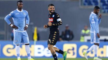 Mertens en co te sterk voor Lazio van Lukaku