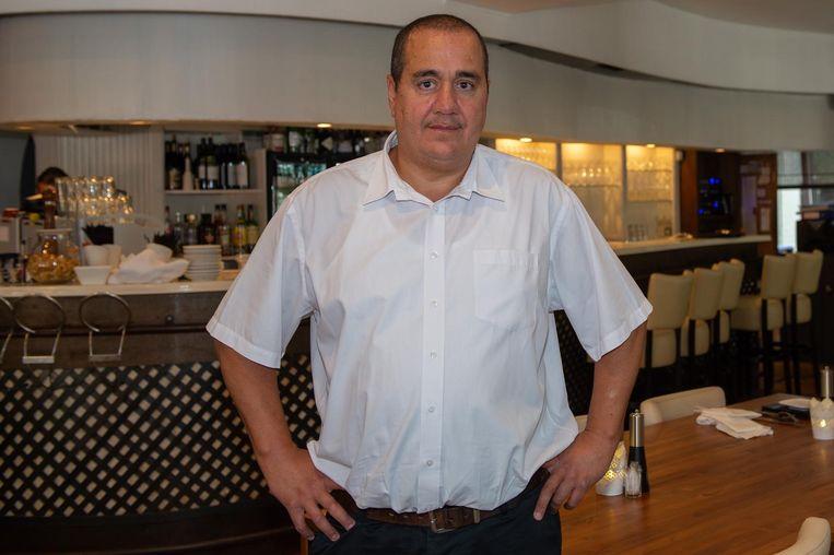 Uitbater Ben Aarab van Villa Dente.