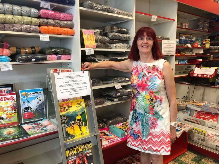 Henriette Kerremans sluit zaterdag na 40 jaar de deuren van dagbladwinkel Country Press in de Mechelseweg.