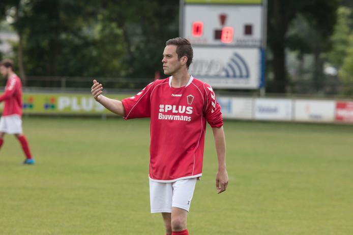 Sonny van Grunsven is dit seizoen voor het eerst een vaste waarde bij SJVV.