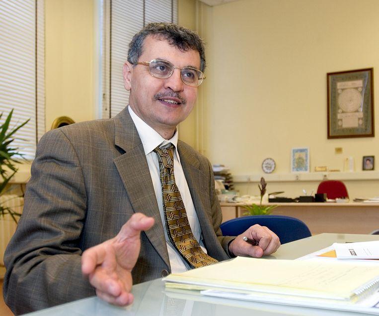 Ahmet Akgündüz, rector magnificus Islamitische Universiteit. Beeld HH