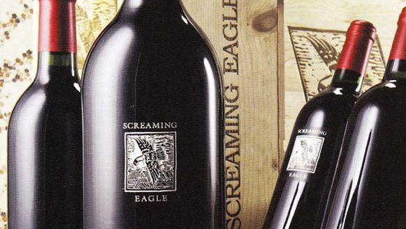Een fles Screaming Eagle deed het gezelschap de das om.