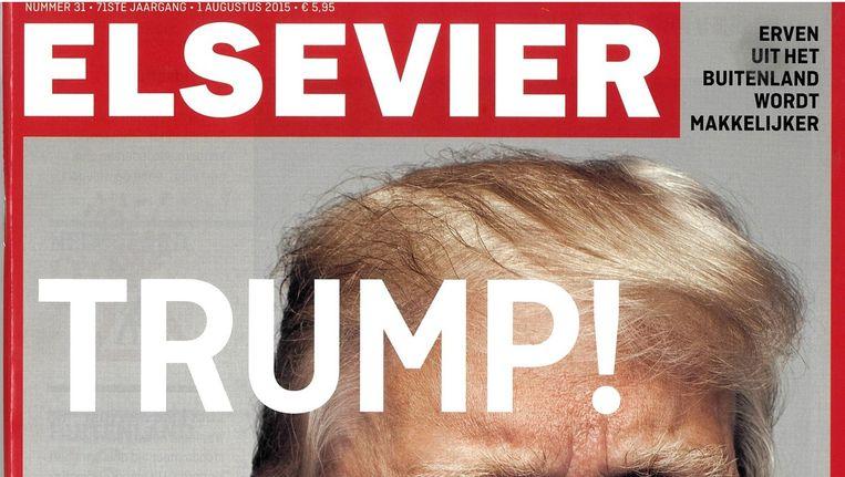 Voorpagina van het tijdschrift Elsevier, 1 augustus 2015. Beeld