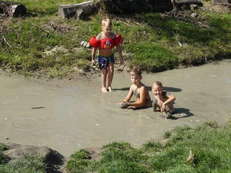 Staatsbosbeheer: 'Verstandig water- en modderpoelen in Beverbos te mijden'
