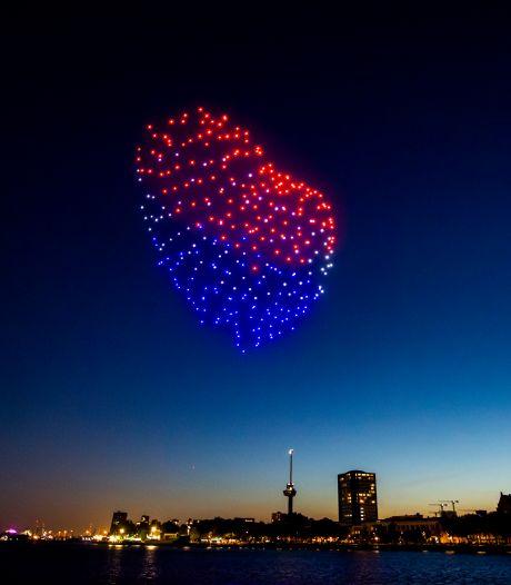 'Vuurwerk' met drones boven Reek? Dan moet Landerd flink dokken