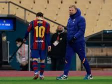 Rampavond voor Koeman met Barcelona: nederlaag in finale Supercup en eerste rood voor Messi