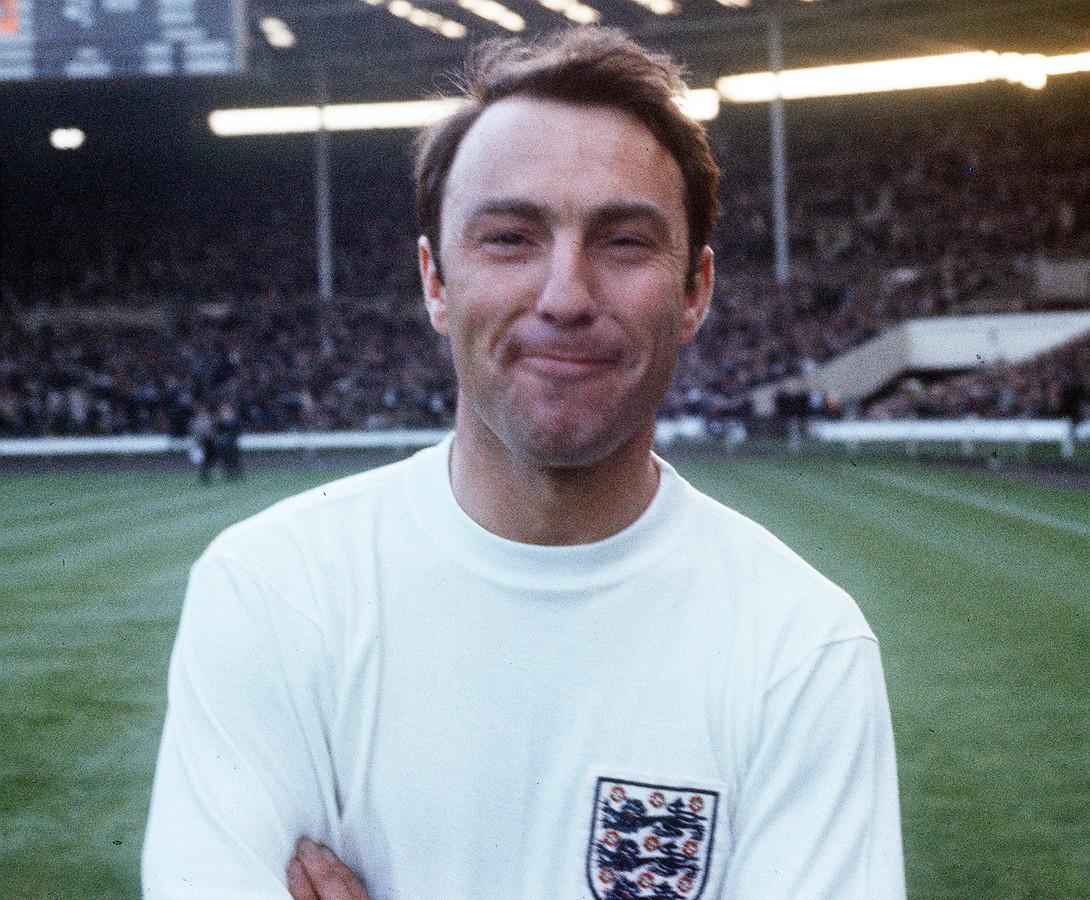Jimmy Greaves in 1967 als speler van Spurs.
