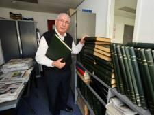 Janus de Vries, courantier en hoofdonderwijzer te Oisterwijk, op 86-jarige leeftijd overleden