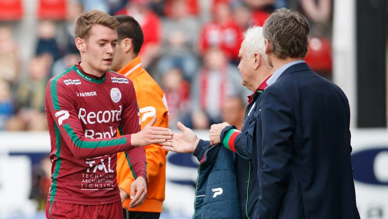 Sander Coopman trekt opnieuw naar het Regenboogstadion.