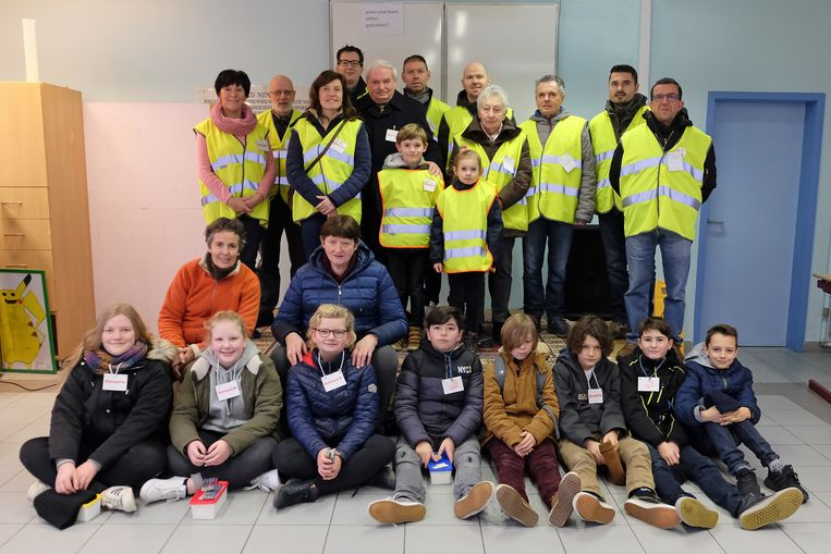 De medewerkers van Damiaanactie in Denderwindeke.