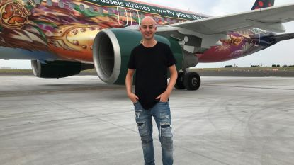Setje draaien op 10.000 meter hoogte: dj X-TOF bouwt feestje op Tomorrowland-vliegtuig