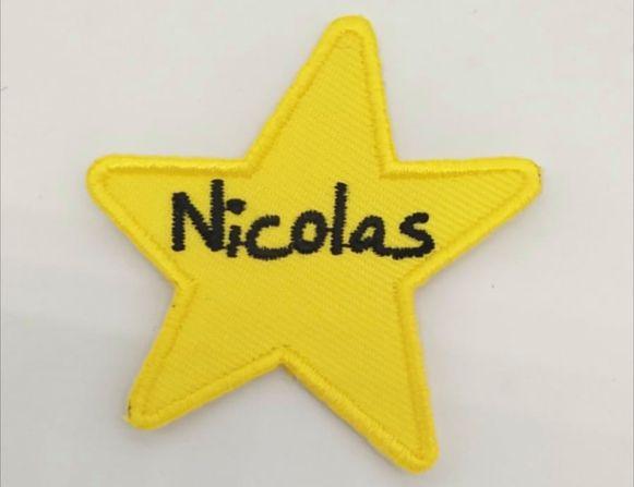 Als eerbetoon en herinnering aan leider Nico, liet KSA De Vlasbloem een mouwschildje ontwerpen: een ster, met daarin de naam van de verongelukte leider.