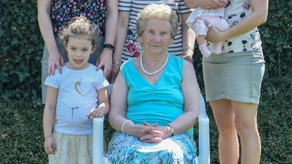 Dubbel viergeslacht voor Maria Swinnen