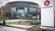 Nieuw cilindrisch kantoor voor Alheembouw
